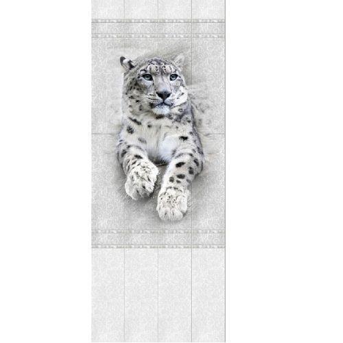 "00550 Дизайн-панели PANDA ""Белые Кружева"" Панно 4шт(8,1м2=12шт) Узор"