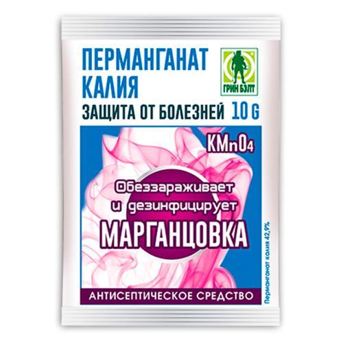 01-562 Перманганат калия (пакет 10 гр.)