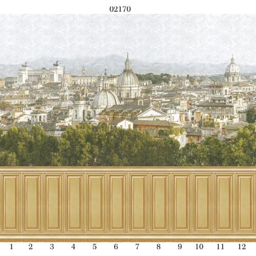 """02170 Дизайн-панели PANDA """"Панель деревянная. Золото"""" панно 12шт (8,1м2=12шт)"""