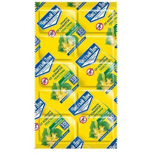 02-624 Пластины от комаров Летнее настроение (уп.10 штук)