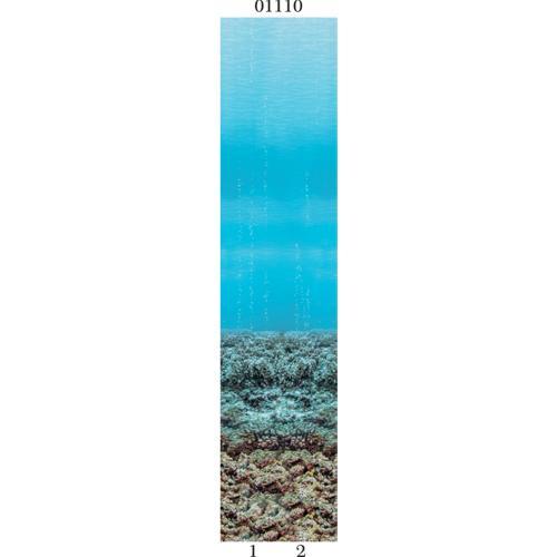 """03810 Дизайн-панели PANDA """"Подводный мир"""" (8,1м2=12шт)"""