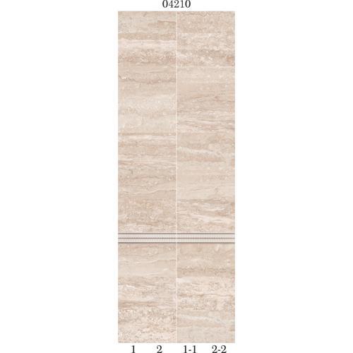 "04210 Дизайн-панели PANDA ""Травертин"" Панно 2шт(8,1м2=12шт)  фон"