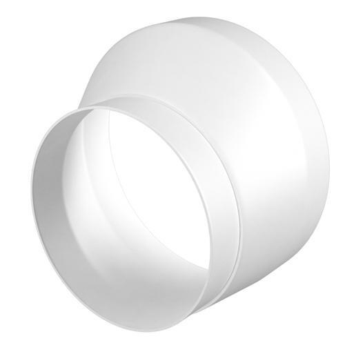 Соединитель эксцентриковый круглого воздуховода с круглым пластик D100/125 (1012,5РЭП)