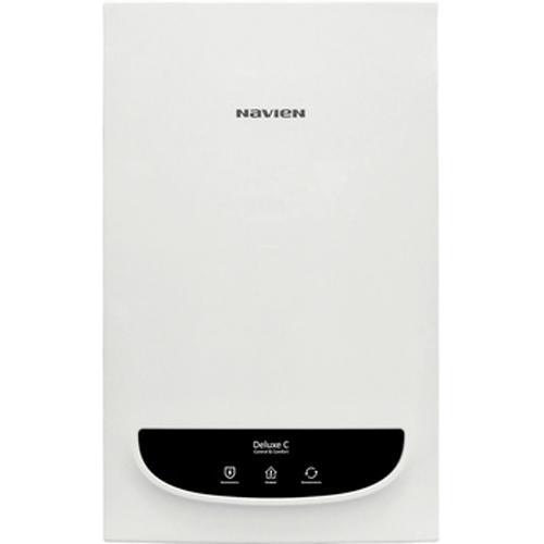 Котел газовый NAVIEN DELUXE С COAXIAL - 24 K White (белый)(240 кв.м, 2,58 м3/ч)