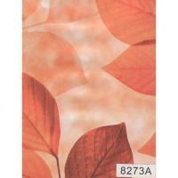 8273А Пленка с/к  0,45x8 м (листья на бежевом фоне) D&B