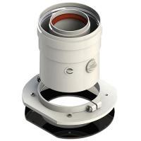 Адаптер вертикальный коаксиальный 60/100 ( кроме Navien,Immergas) Sibio(V-U01)