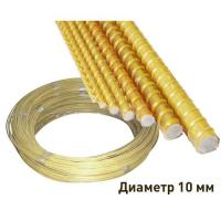 Арматура композитная  диаметр 10 мм(50п.м) без посыпки