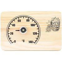 """Банная станция открытая термометр """"прямоугольная"""" СБО-2т"""