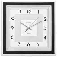 Часы настенные кварцевые ENERGY модель EC-11 квадратные
