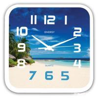 Часы настенные кварцевые ENERGY модель EC-99 пляж