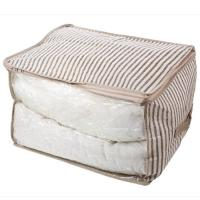 Чехол для хранения одеял ECO 60х50х35см с ручкой,полипропилен HHSS-3050-01