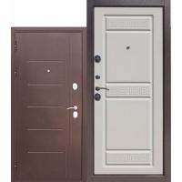 Дверь мет.10смТроя медный антик Белый ясень  860 левая (Россия)