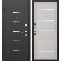 Дверь мет. 7,5 см Гарда муар  Лиственница беж Царга 860 левая (Россия)