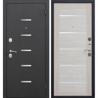 Дверь мет. 7,5 см Гарда муар  Лиственница беж Царга 960 правая (Россия)