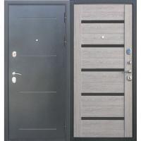 Дверь мет.Троя Серебро Дымчатый дуб  860 правая (Россия)