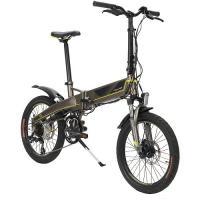 Электровелосипед PBK 2007S (POLAR), Серый/Желтый