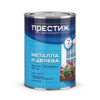 """Эмаль ПФ-115 (Белая 0,9 кг) (14шт в кор) """"ПРЕСТИЖ"""""""