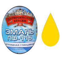 """Эмаль ПФ-115 (Желтая 2.7 кг """"ЦАРИЦЫНСКИЕ КРАСКИ"""")"""