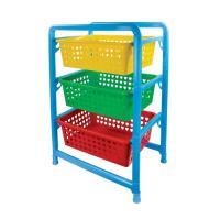 Этажерка для игрушек 3-х секц (450х310х640) (уп.3) М1273