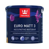 EURO MATT 3 А краска интерьерная 2,7л.