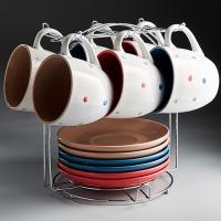 Ф17-031K/12 Набор чайный 12 пр. на металл. подставке 250мл  (4)