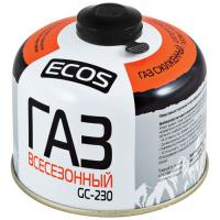 Газ всесезонный т.м.ECOS в баллоне GC-230 (резьбовой EPI-GAS,230 г, Корея)