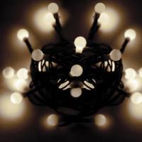 Гирлянда КОСМОС 30LED BALL_W (шарики, белые, 4,5м)