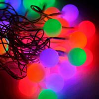 Гирлянда КОСМОС 30LED BigBALL_RGB (шарики 2,5см, мультиколор)