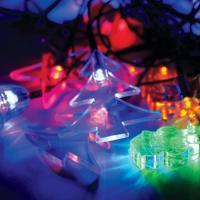 Гирлянда КОСМОС 30LED MIX1_RGB (Игрушки мультиколор, 4,4м)