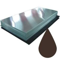 Гладкий лист 8017 Шоколад (2,5 х 1.25 х 0.45)
