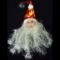 Голова Деда Мороза мини