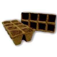 Горшочки торфяные 70х70 (квадратный)