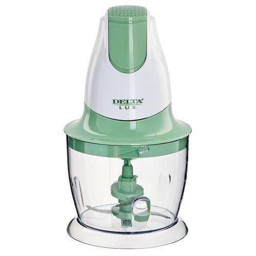Измельчитель DELTA LUX DL-7417 белый с зеленым: 300Вт., 2 лезвия