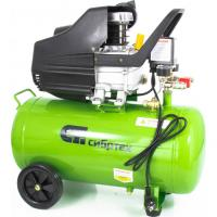 Компрессор воздушный КК-1500/50, 1,5 кВт, 198 л/мин, 50 л, прямой привод, масляный// Сибртех арт.580