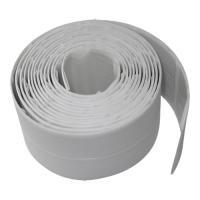 Лента бордюрная, 30мм-30мм 3.35метра, белая гермет  WHITE LINE