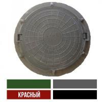 ЛЮК полимерно песчаный тип  ЛМ(А15) цвет красный  (1,5т)