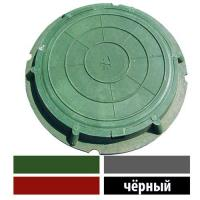 ЛЮК полимерно песчаный тип  ЛМУ(А30) цвет черный (3т)