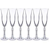 """Набор бокалов для шампанского из 6 шт. """"Parus"""" 190 мл. высота=26 см. 669-270"""