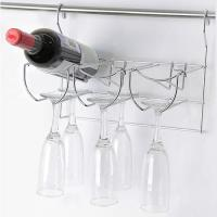 Полка для бокалов и бутылок, хром арт.MX-450