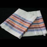 Полотенце льняное полоса