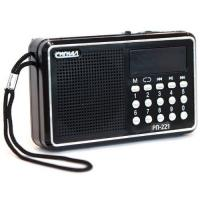 """Радиоприемник """"Сигнал РП-221"""", FM 88-108МГц, акб 400mA/h, USB/microSD, дисплей"""