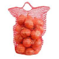 Сетка-Мешок с ручкой 25*39 цв красный (100 шт в упак)