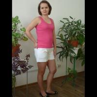 "Шорты ""Манго"" белые р.48"