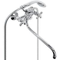 Смеситель для ванны ARGO RETRO двурычажный керамика 202R