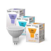 Светодиодная лампа Sweko 42 серия 42LED-MR16-5W-230-6500K-GU5,3 (38529)