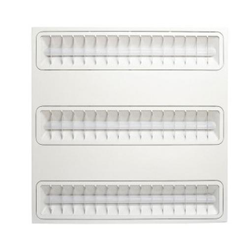 Светодиодный растровый светильник 30 Вт Решетка серии FLL-595 EKF