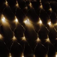Светодиодный сетка KOC_NET240LED_W (240 светодиодов, белый, 1,8*1,7м, 8 режимов мигания)