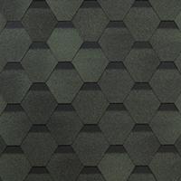 ТЕХНОНИКОЛЬ Гибкая черепица,Оптима, Зеленый 6S4X21-0703RUS 3м2 екн 578535