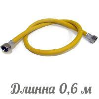 TUBOFLEX подводка для газа ПВХ (евро слот) 1/2 0,6 м г/г