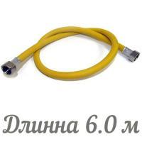TUBOFLEX подводка для газа ПВХ (евро слот) 1/2 6,0 м г/г